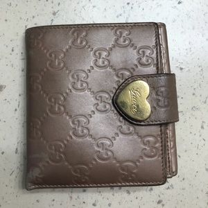Gucci Rose Gold Wallet